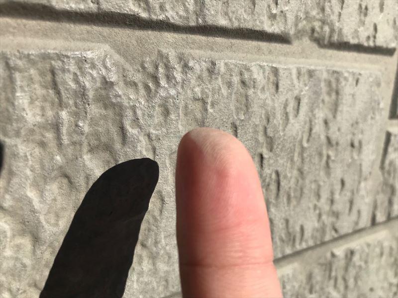 住宅外壁のチョーキング