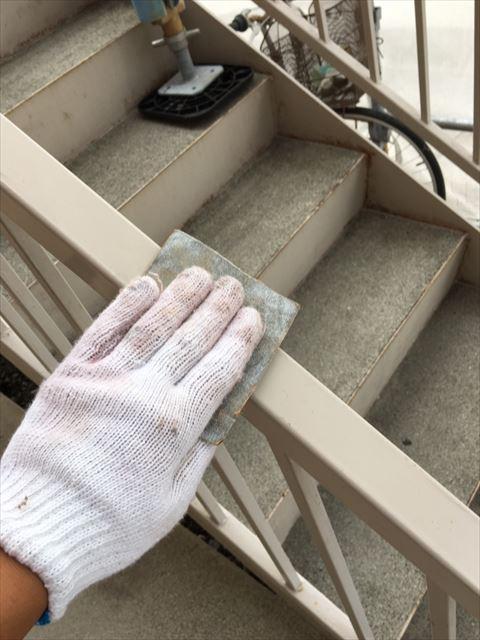 鉄骨の塗装前下地処理