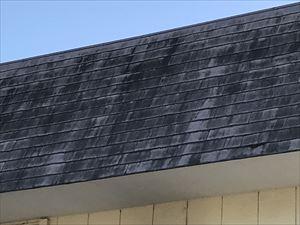 塗装劣化したスレート屋根