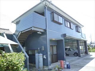 塗装工事後の住宅の外観