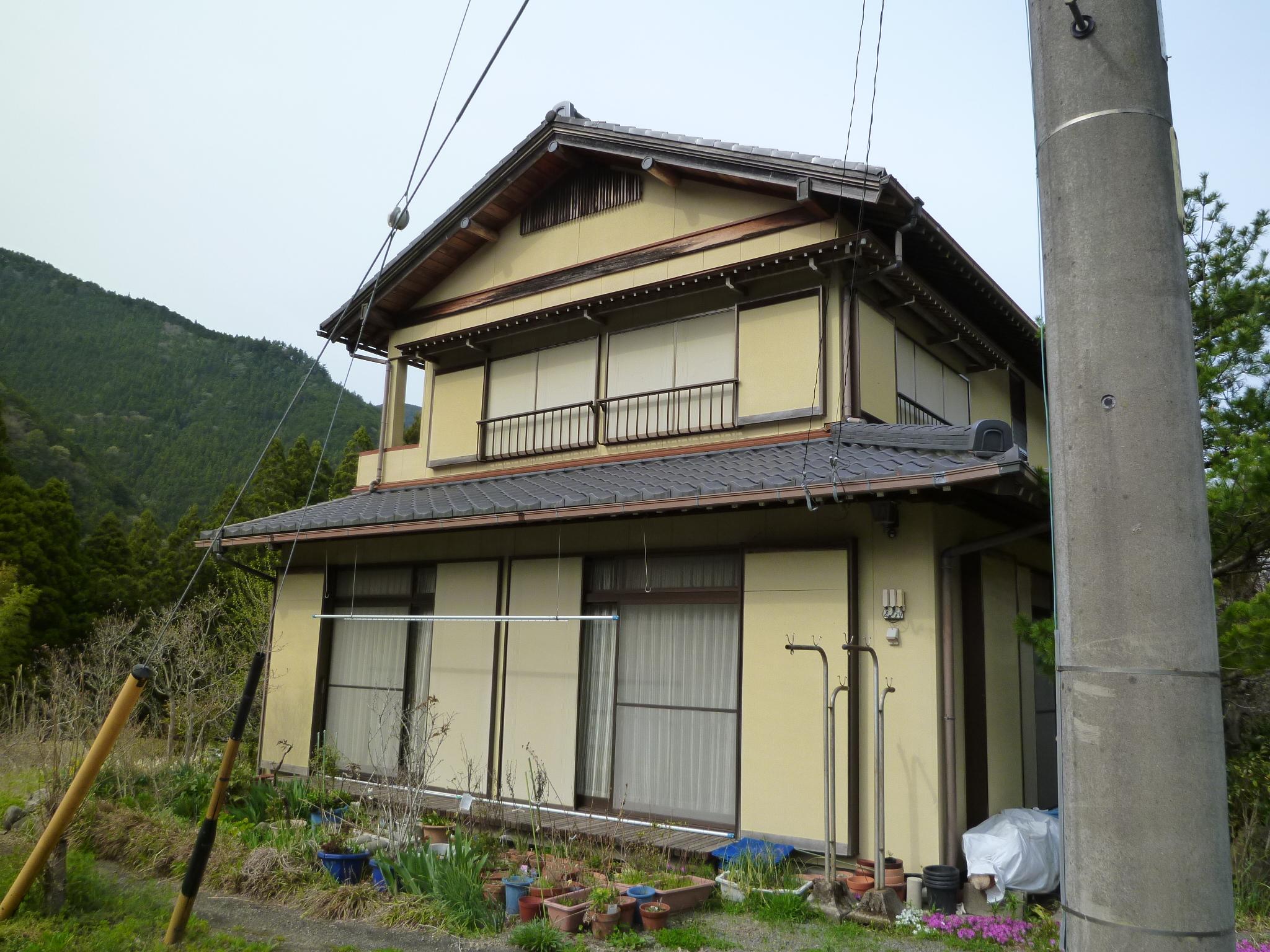 施工前の住宅の外観