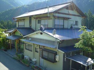 塗り替え後の住宅の外観