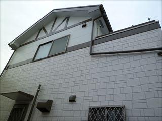 塗装後のの住宅外壁