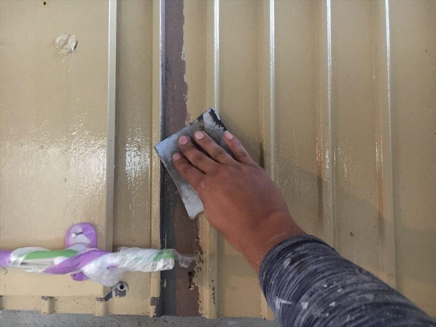 塗装前の壁の下地処理