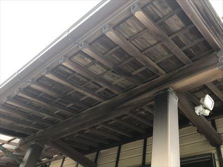 袋井市で木の壁、天井の塗装はお任せ下さい