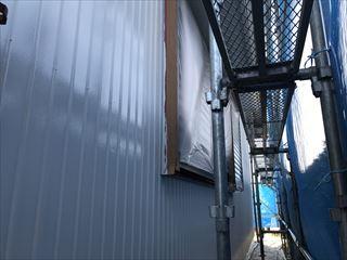 住宅外壁の塗装完成後